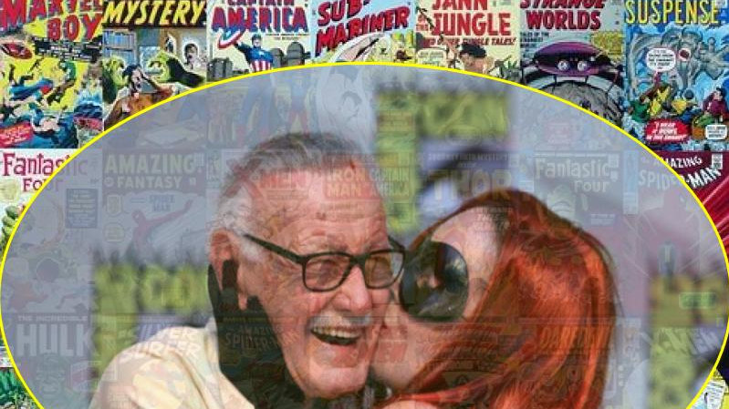 Poster of stan lee